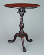 Eastern Virginia Carved Candlestand