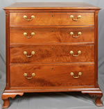 Virginia Walnut 4-drawer chest