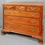 Shenandoah Valley finely inlaid 6-drawer chest