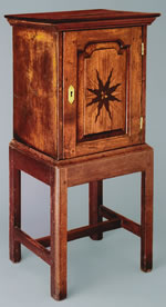 Williamsburg, Virginia Spice Cabinet circa 1750 - 1760